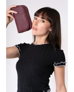 501 DARK RED - Dark Red Purse
