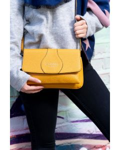 690 MUSTARD- Mustard Cross Body Bag