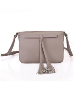 344 SILVER - Silver Cross Body Bag
