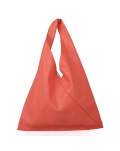 421 CORAL - Coral Hobo Bag in a Bag