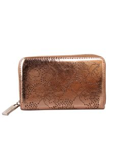 453 CHAMPAGNE - Champagne Patterned Purse