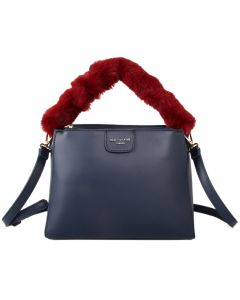 500 BLUE - Blue Fluffy Handle Grab Bag (Grey Fluffy handle)