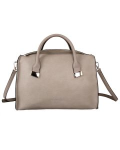 549 SILVER - Silver Textured Tote