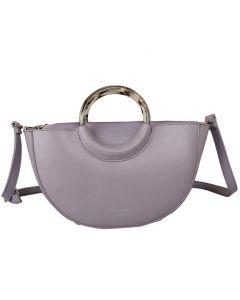 562 LILAC - Lilac Semi Circle Bag