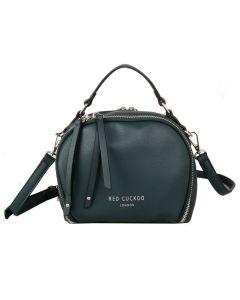 599 GREEN - Small Green Round Grab Bag
