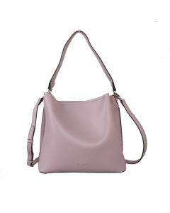 617 LILAC - Lilac Shoulder Bag With Magnetic Closure