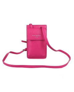 692 HOT PINK - Hot Pink Crossbody Bag