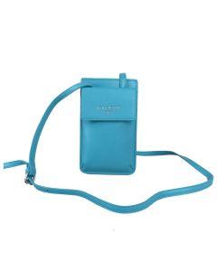 692 TEAL - Bright Blue Crossbody Bag