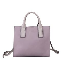 722 PURPLE - Small Purple Tote with stand Out Straps