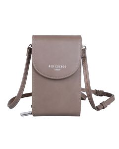 745 TAUPE - Taupe Cross Body Pouch