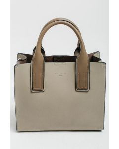 722 GREEN - Small Green Tote with Stand out Straps