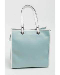 724 MINT - Mint Shopper with White Detail and Straps