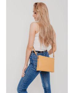 602 YELLOW - Yellow Cross Body Bag