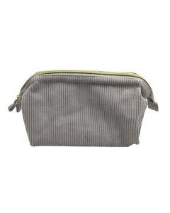 PP130 GREY - Large Grey Make Up Bag