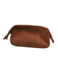 PP130 ORANGE - Large Orange Make Up Bag