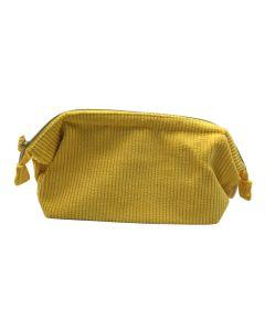 PP130 YELLOW - Large Yellow Make Up Bag
