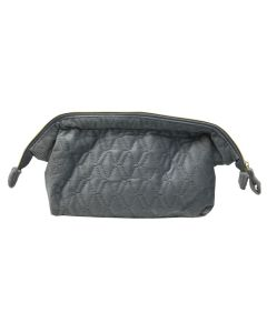 PP131 BLUE - Large Blue Soft to Touch Make Up Bag