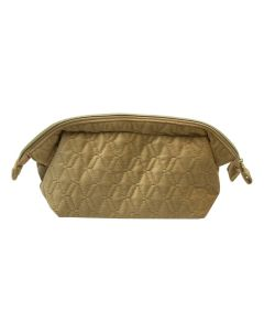 PP131 MUSTARD- Mustard Soft To Touch Make Up Bag