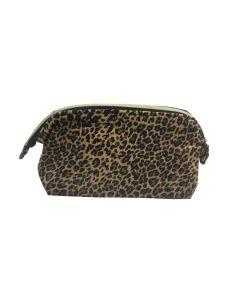 PP133 LEOPARD - Large Leopard Make Up Bag
