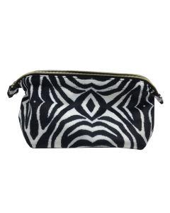 PP133 ZEBRA - Large Zebra Make up Bag