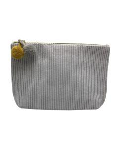 PP134 GREY - Medium Grey Make Up Bag
