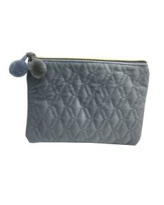 PP139 BLUE - Small Blue Make Up Bag