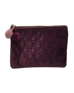 PP139 PURPLE - Small Purple Make Up Bag